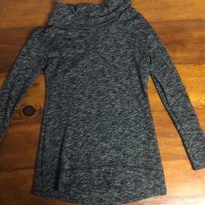 Target Merona Gray Cowl Neck Sweater